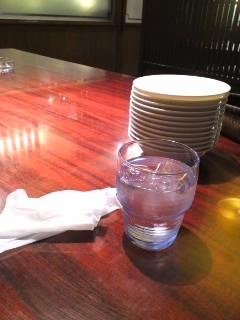 一人でお店で飲む
